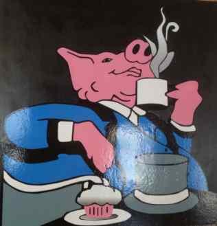 Snooty Pig Restaurant Logo Keller TX Location
