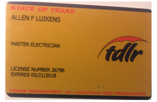 Texas-Master-Electrician-License-Copy